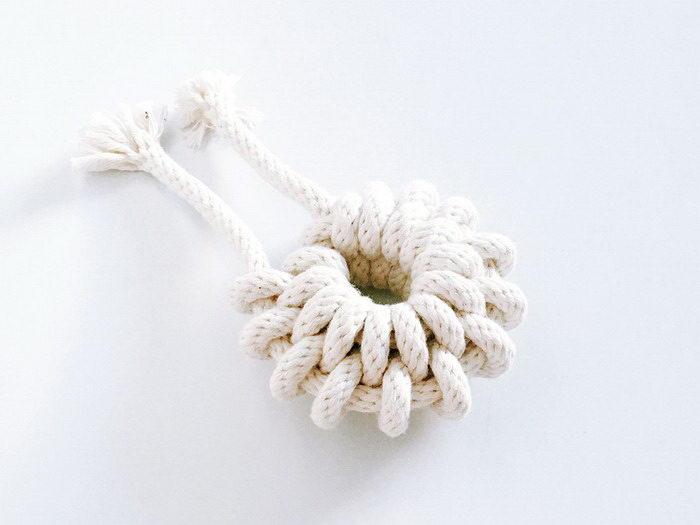 Красота узлов из веревок: проект Windy Chien