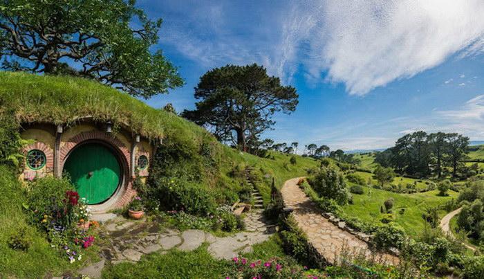 Хоббитон: деревня из Властелина Колец действительно существует в реальности