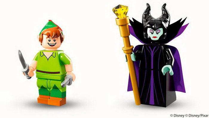 Самые известные герои Диснея в одном наборе Lego