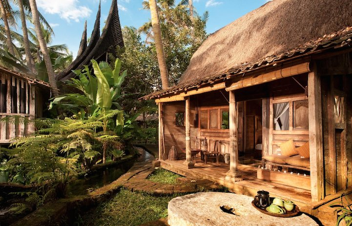 Удивительный дом на Бали