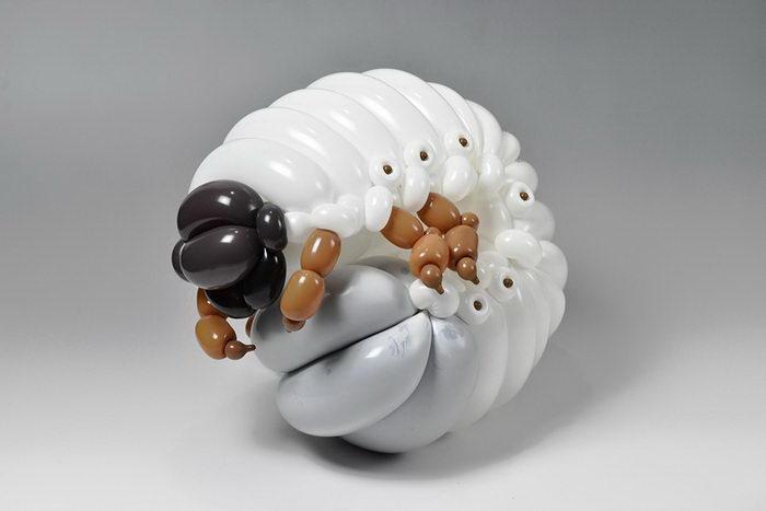 Фигурки из воздушных шаров Masayoshi Matsumoto