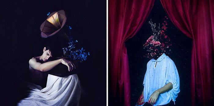 Необычные автопортреты Alan Uchoa