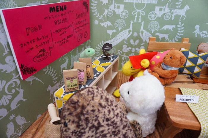 Кафе для плюшевых игрушек в Японии