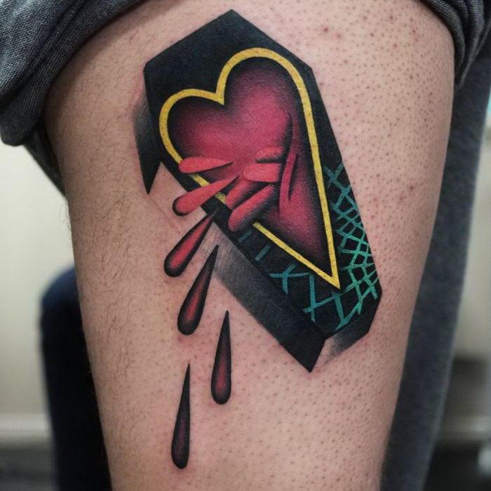 Яркие татуировки Aleksy Marcinow