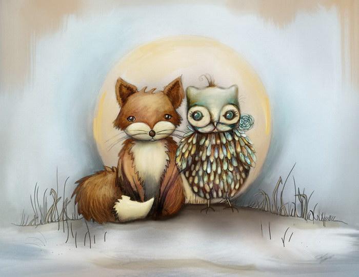 Волшебные рисунки Karin Taylor