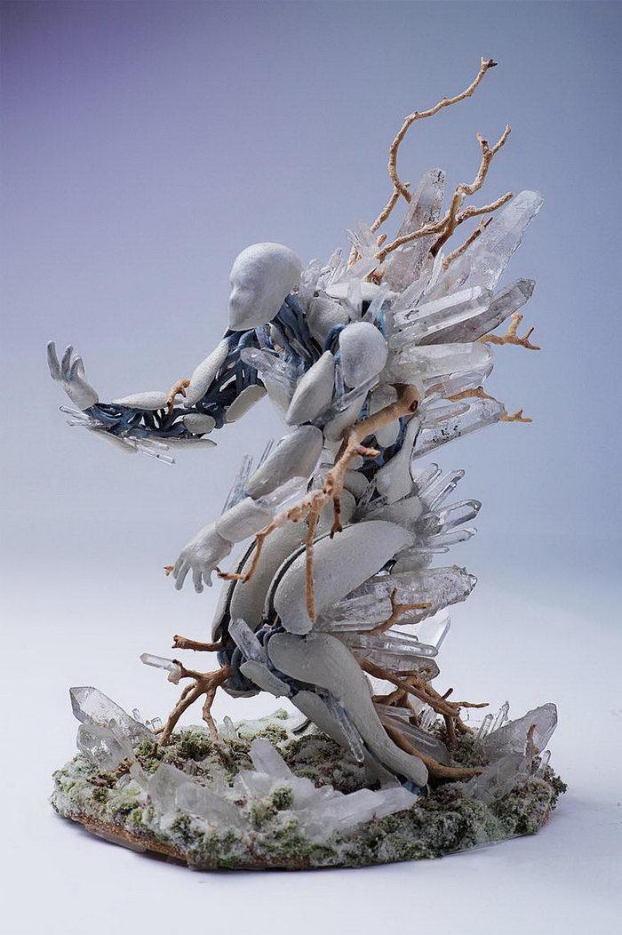 Цветочные скульптуры Garret Kane