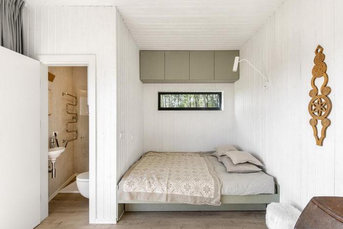 Etno Hut: миниатюрный домик для двоих на природе